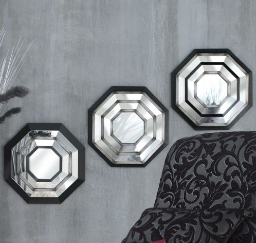 3-Piece Octagonal Wall Mirror Set from Seventh Avenue ...