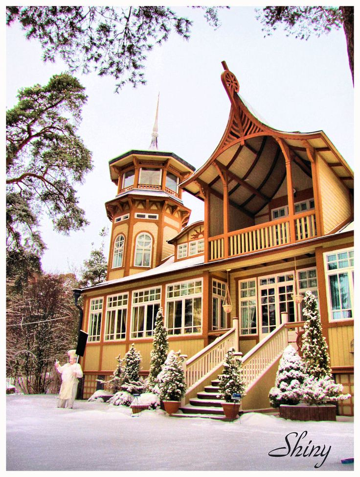 Villa Talbo Rauma, Finland....I am going there on our next visit to Rauma