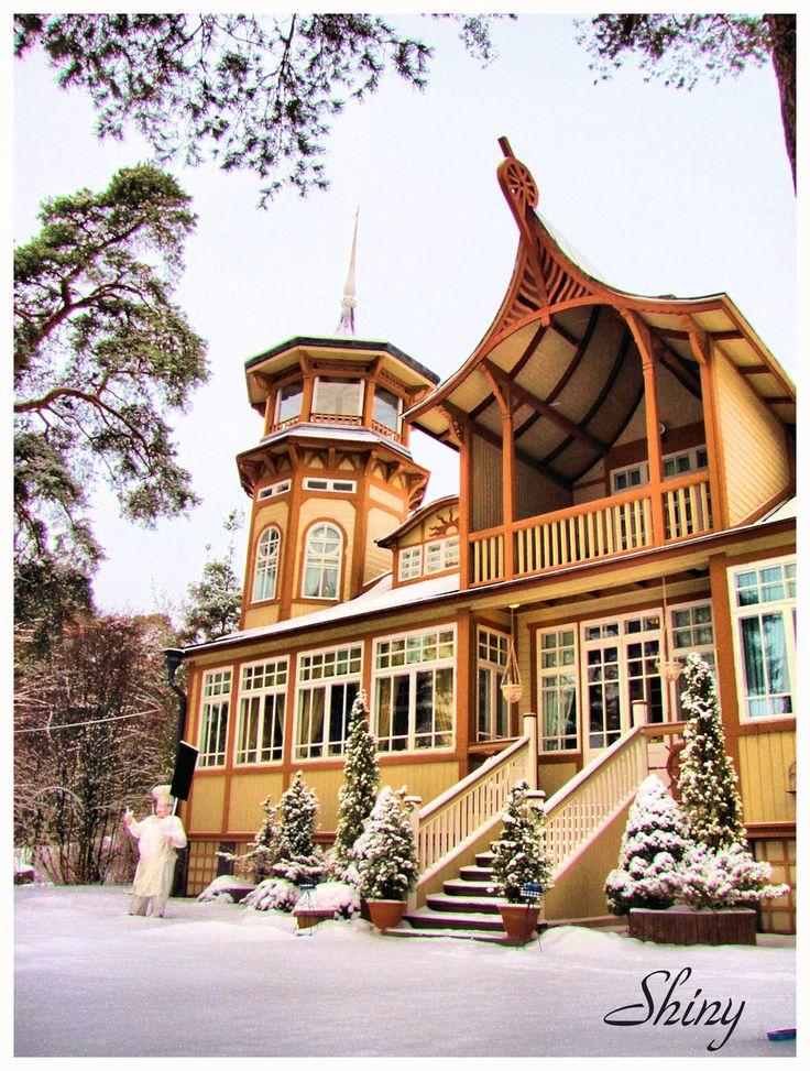Villa Talbo Rauma,Finland by ShinyHeels.deviantart.com on @deviantART
