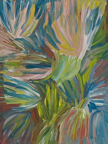 'Ntange (Grass)', Emily Kngwarreye, 1994
