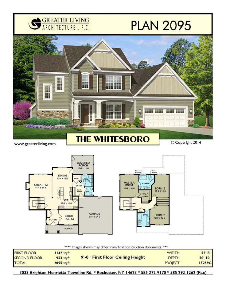 38 Best Two Story House Plans Images On Pinterest