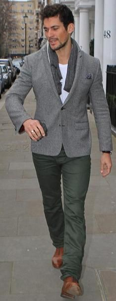 (David Gandy) Love a suit that has tight pants.