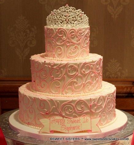Sweet Sixteen Cake Decorations