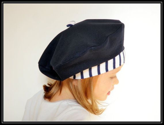 Stripes make this beret a winner