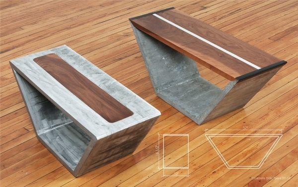 Красивые самодельные столы и декор для дома