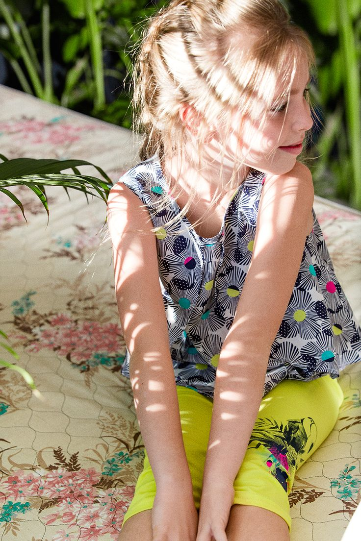 Deux Par Deux | Printemps-Été 2016 - Toucan Do It #summer2016 #girls #fashion #outfit #girls #kids #été2016 #filles #mode #enfants