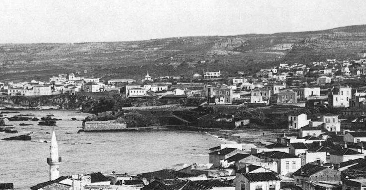 Χανιά. Κουμ-Καπί τραβηγμένη κάπου το 1910 απ´ τον επιπρομαχώνα της Santa Lucia (που δεν υπάρχει πλέον).Φωτογραφικό Αρχείο Μανώλη Μανούσακα από την έκθεση: ´ΧΑΝΙΑ-ΒΕΝΕΤΙΑ χθες και σήμερα