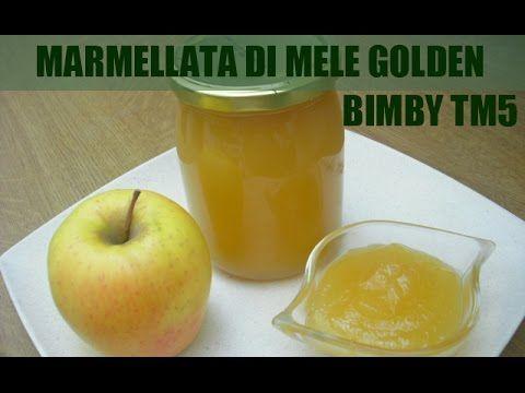 MARMELLATA DI MELE (con fruttosio) con Bimby TM5 - Ricetta per diabetici