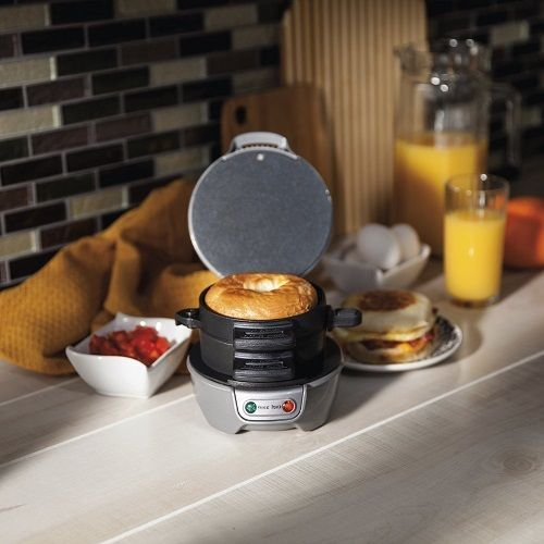 New Electric Breakfast Sandwich Maker Home Made Fast Food Healthy Meals Hamilton