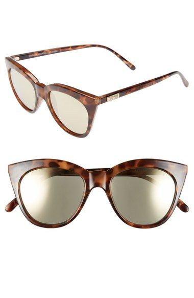 Le Specs 'Halfmoon Magic' 51mm Cat Eye Sunglasses available at #Nordstrom