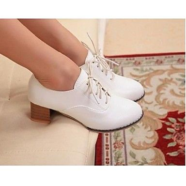 Women's+Chunky+Heel+Round+Toe+Oxfords+Shoes+(More+Color)+–+USD+$+24.99
