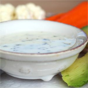 Paleo (and AIP) Ranch Dressing! Plus an avocado ranch variation - yum! Gluten free, dairy-free, soy-free, egg-free.