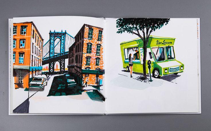 The Brooklyn Sketchbooks, 2012 | Nik Neves