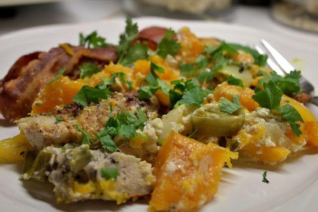 Huvilaelämää ja mökkiruokaa: Syksyinen Cajun-kanapata