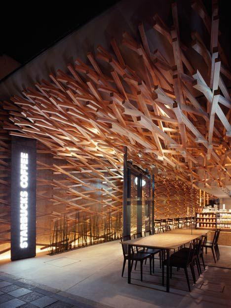 STARBUCKS COFFEE Dazaifu tenmangu. Architect, Kengo Kuma to design. #Japan #architecture