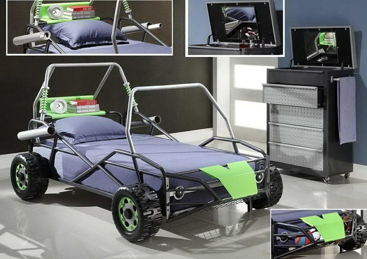 W9133 Dune Buggy Twin Car Bed Boys Bedrooms Pinterest