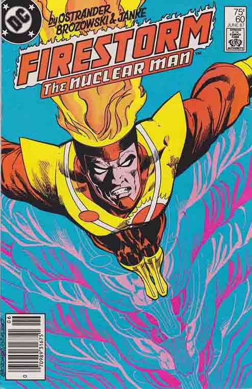 Firestorm is the name of several comic book superheroes published by DC Comics. Ronnie Raymond and Martin Stein, the first Firestorm, debuted in Firestorm, the Nuclear Man #1 (March 1978), and was created by Gerry Conway and Al Milgrom.