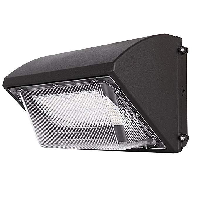 80w Led Wall Pack Fixture 5000k Daylight Led Wall Light 10400lumen Led Security Lighting Ip65 Outdoor Wall Mount Lights Fixture Ul Listed Review Wall Mount Light Fixture Outdoor Wall Mounted Lighting Security