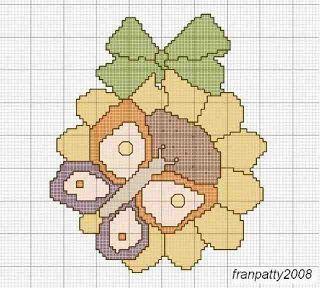Uncinetto Facile Facile: THUN a punto croce - schemi gratis free pattern