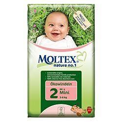 Moltex Nature No1 Mini ~ (44 nappies) ~ 3 to 6 kg, 6.5 to 13 lb
