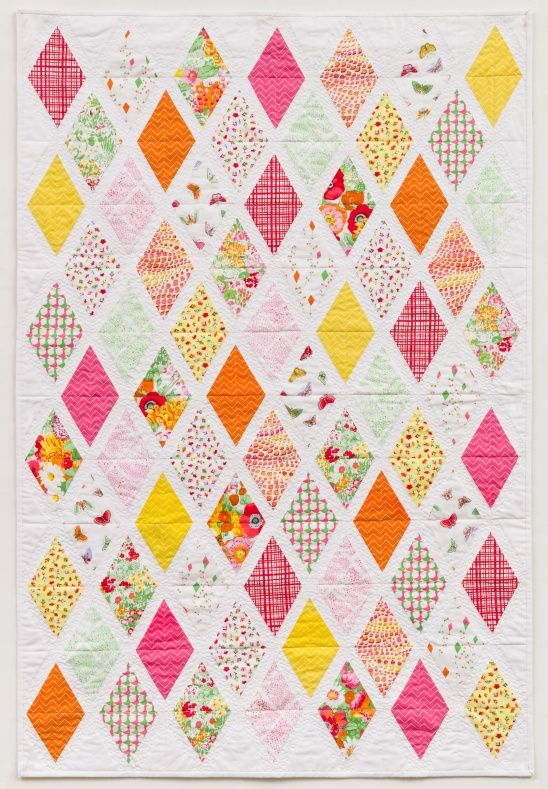 Clementine // Must Stash Quilt by Dear Stella Design | Project | Sewing / Quilts | Kollabora