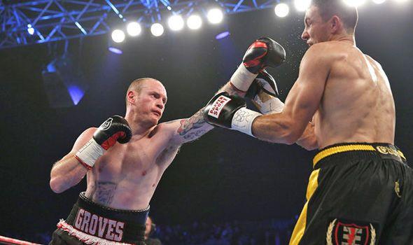 George Groves beats Eduard Gutknecht to retain WBA International Super Middleweight title