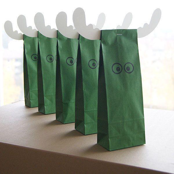 Adventskalendertüten, Papiertüten, Geschenktüten von hollanddesign auf DaWanda.com