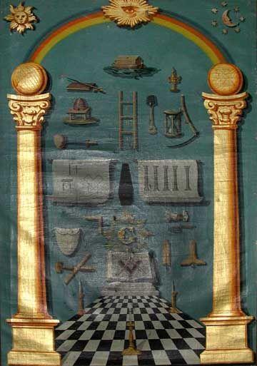 438 best masonic arts images on pinterest freemasonry masonic corner stone lodge tracing board pronofoot35fo Images