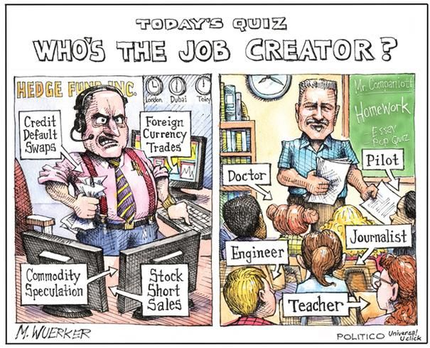Political Cartoons: Who's the job creator? - 11 of 20 - POLITICO.com