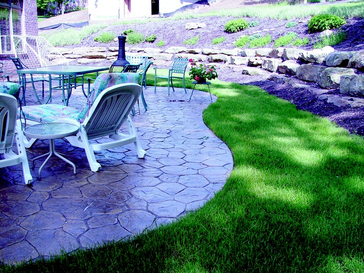17 Best Images About Outdoor Flooring Concrete Stone On