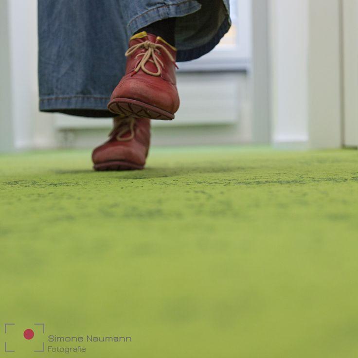 ab und zu mit Kollegen über den Gang gehen.  Ich finde der grüne Teppich im Combinat56 ist dafür bestens geeignet.