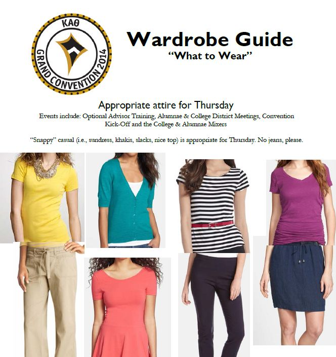 Looking for Grand Convention wardrobe guidance? Available now on the website! #Theta14 #Theta1870