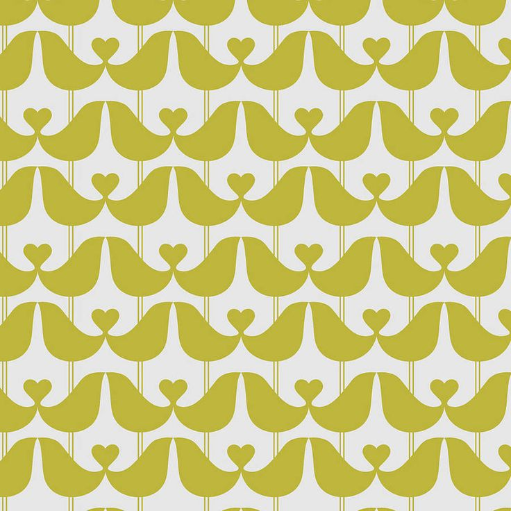Gorgeous wallpaper by ISAK featuring a graphic lovebirds design.Charcoal, Mustard Yellow or Stone GreyThis graphic, contemporary wallpaper works equally well for a feature wall or a whole room. The elegant, understated pattern comes in three stylish colourways - Charcoal, Mustard Yellow or Stone Grey - and the wipe-clean paper is sourced from sustainable Scandinavian forests. Pattern repeat 7.5cm. Samples can be purchased for £1.Paper from sustainable sources10m roll, 52cm wide
