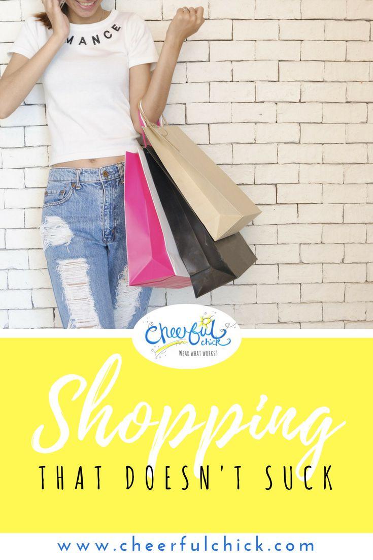 CLothes shopping tips so shopping doesn't suck