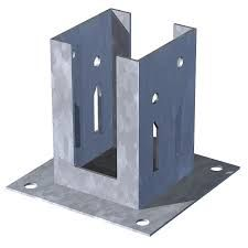 Image result for TIMBER POST BASE PLATES