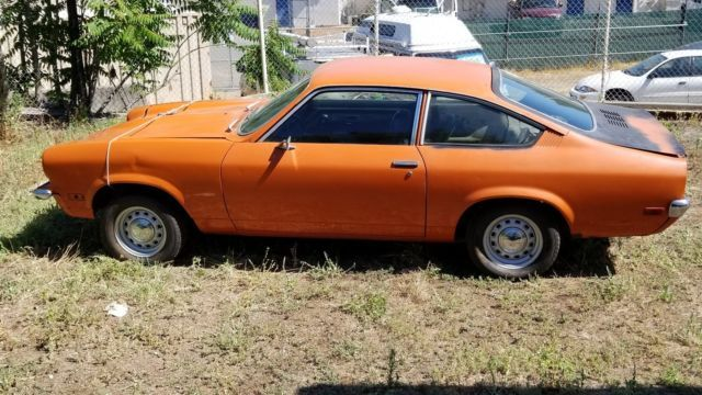 1973 Ca Chevrolet Vega Liftback Coupe Was V 8 Has Parts C Pixs Chevrolet Vega Chevrolet Vega