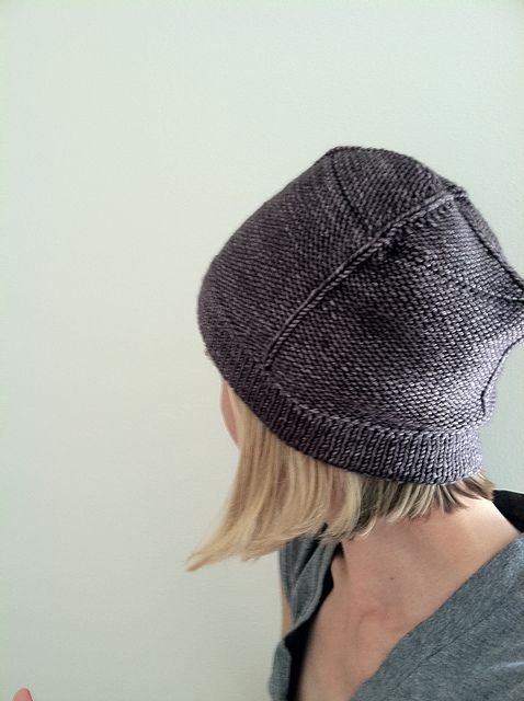 Zumthor Hat, Kirsten Johnstone. square, boxy hat.