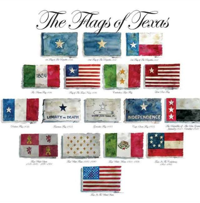 The Flags of Texas