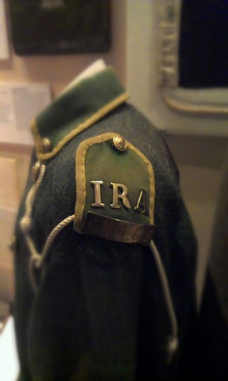 IRA uniform, Collins Barracks Museum, Dublin, Ireland ...