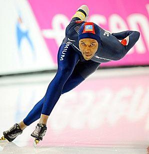 Olympic Gold Medalist Shani Davis - Speed Skating
