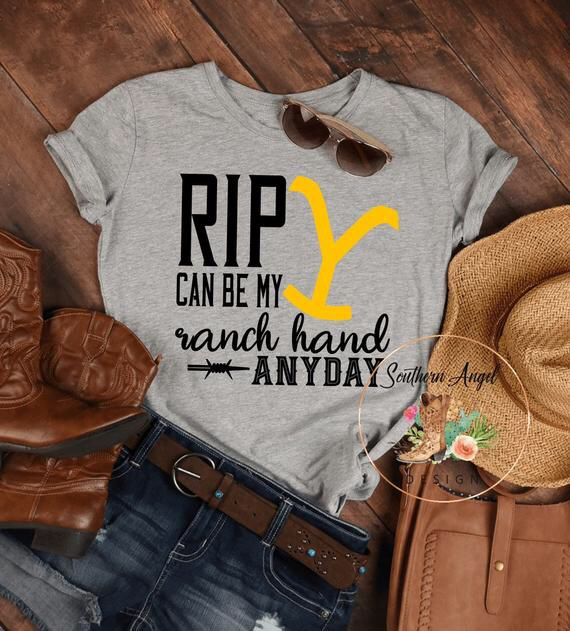 Rip Can Be My Ranch Hand T Shirt Western T Shirt