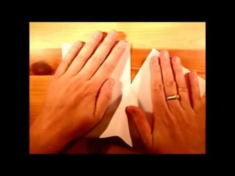 Een boekje vouwen in 1 minuut! - YouTube