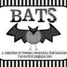 These freebies can be added to any classroom bat unit.Visit my blog at fun-in-first.blogspot.com for more classroom ideas....