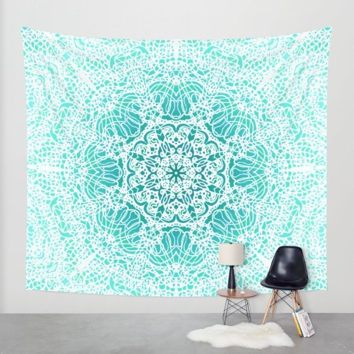 SOLD Wall Tapestry Mehndi Ethnic Style G344! https://society6.com/product/mehndi-ethnic-style-g344_tapestry#s6-4362703p42a55v414 #Society6 #Wall #Tapestry #Mehndi #Ethnic #embroidery #lace  #crochet #decor #home #homedecor