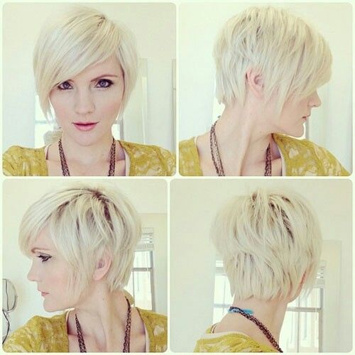 Cute for growing out a short pixie.