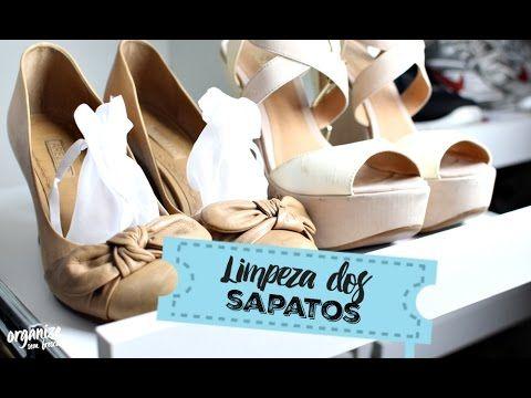 Organize sem Frescuras   Rafaela Oliveira » Arquivos » Como Limpar os Sapatos antes de Guardar
