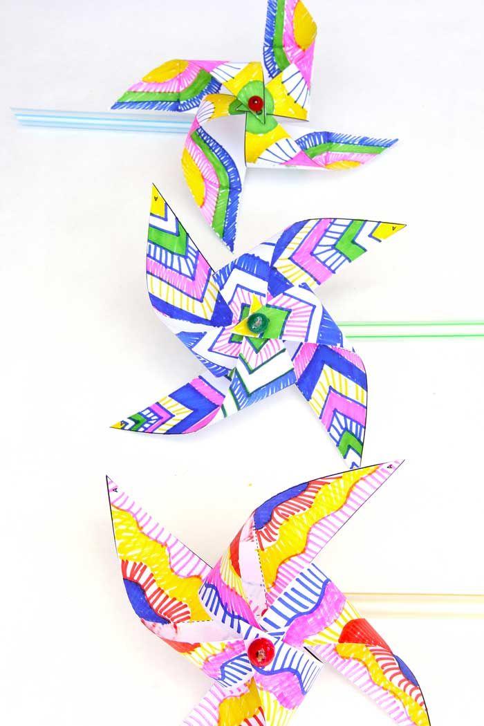 57 best images about pinwheels papírforgók on pinterest