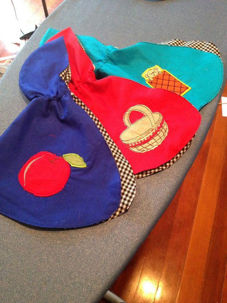 ROSEBUDS CRAFTS: 3 Capes for 3 Dolls