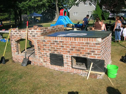 78 Images About Brick Bbq Grills Ovens Amp Smokers On