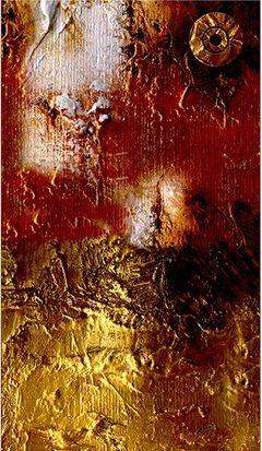 """Papel pintado para paredes """"Abstracción pintada"""" un diseño único que imita la pintura al óleo, despliega elegancia y es fácil de pegar. ¡Consigue una ilusión de relieve en la superficie de tus paredes!"""